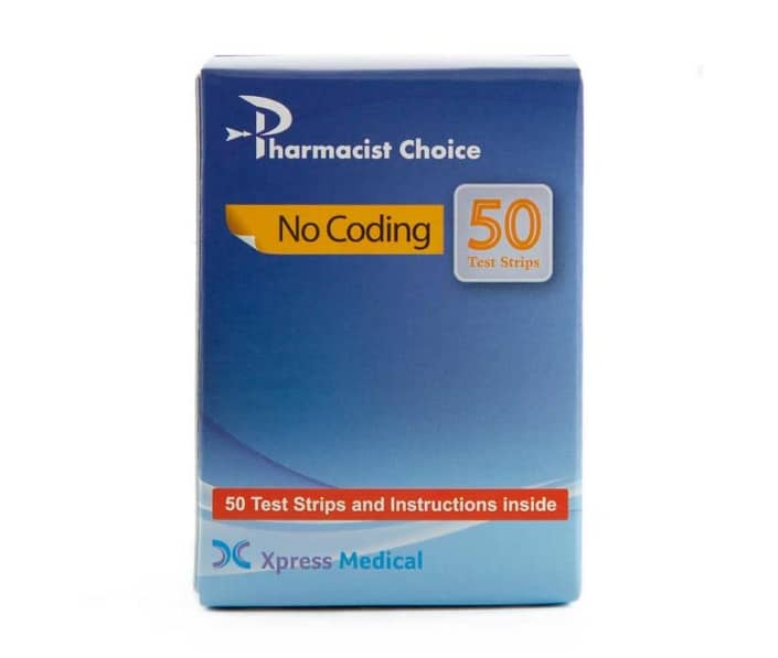 Pharmacists Choice Test Strips