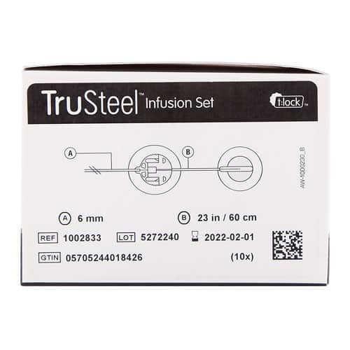 TruSteel Infusion Set 23in
