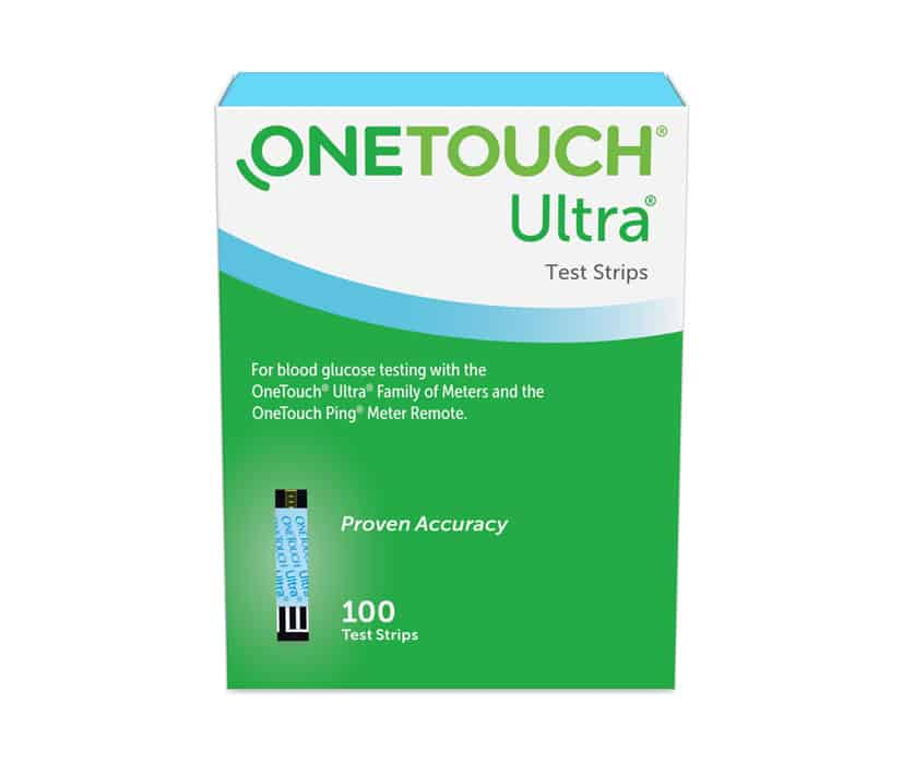 OneTouch Ultra Tesst Strips 100 Count
